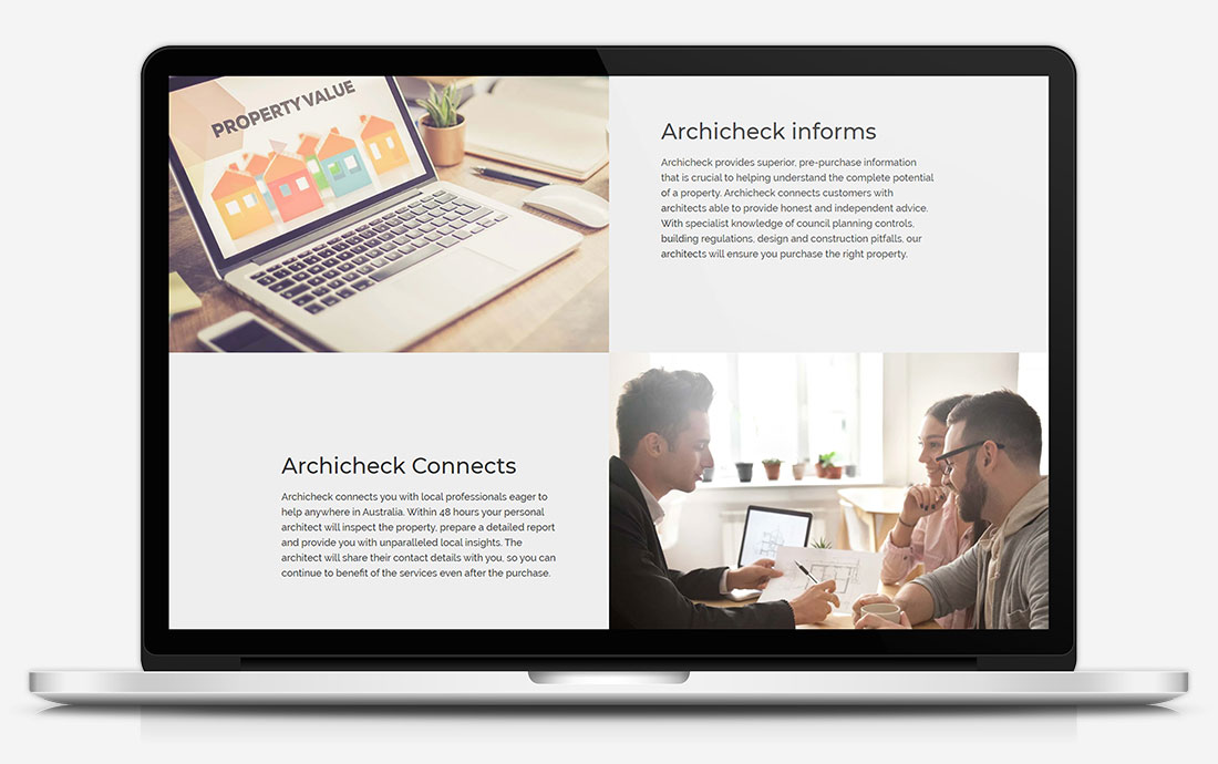 Archicheck Informs & Connects